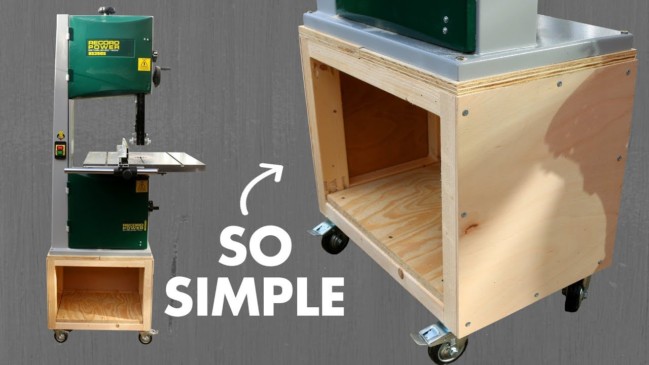 Diy Bandsaw Mobile Base