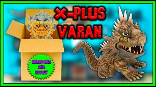 X-Plus Defo-Real Varan 1958 UnboxingMini Review
