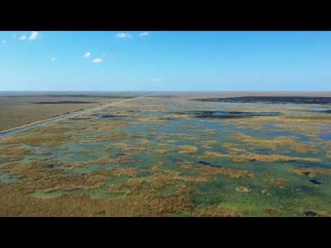 DJI Spark - Everglades/Sawgrass Expressway