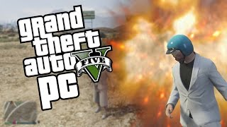 Gta 5 - Doing Drugs in GTA 5. (Gta V Funny Moments PC)