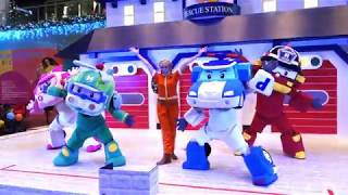 Robocar Poli Live Show in Singapore for Christmas at Marina Square