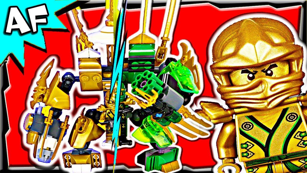 Lloyd vs kai lego ninjago mech battle 3 youtube - Ninjago lloyd and kai ...