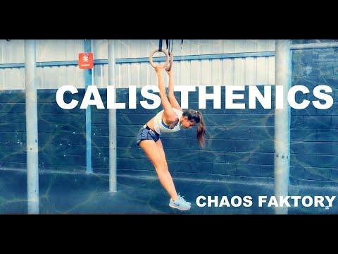 India - Calisthenics at Chaos Faktory - Bangalore