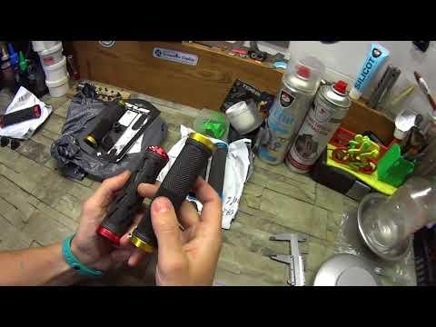 Грипсы из Китая - ручки на руль Banggood.com