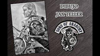 JAX TELLER SPEED DRAWING | Sons Of Anarchy | Drawings Eva