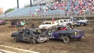 Indiana State Fair Derby 2018 Modified Stock