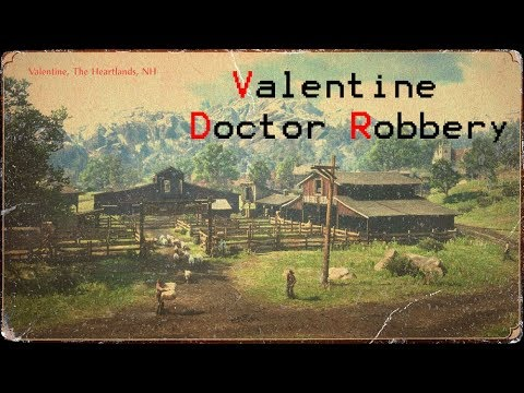 Red Dead Redemption 2 Valentine Doctor Robbery Only 5 Bounty