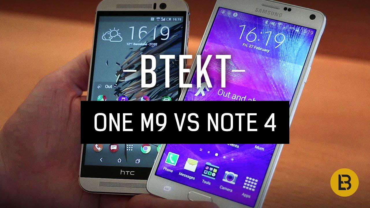 Samsung galaxy note 5 vs htc one m9 plus a comparison - Htc One M9 Vs Samsung Galaxy Note 4 Hands On Comparison