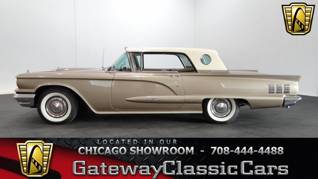 Ford Thunderbird Gateway Classic Cars Chicago Youtube