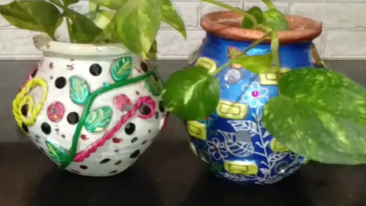 Diy Art And Craft Ideas For Growing Plants Grow Money Plants In