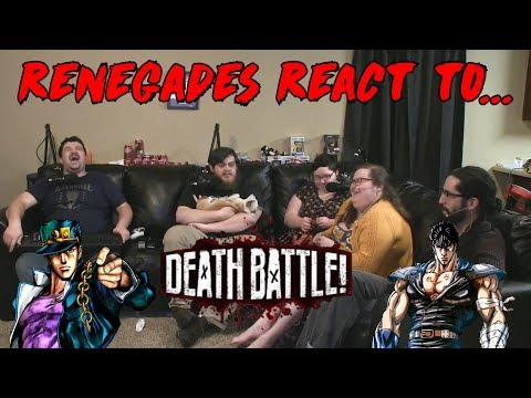 Renegades React to... Death Battle! - Jotaro vs. Kenshiro
