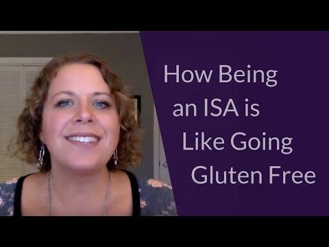 How Being an ISA is Like Going Gluten Free