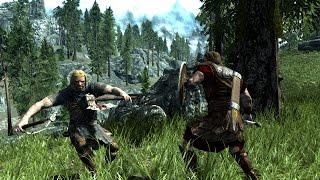 Skyrim Battles - Hadvar vs Ralof [Reloaded][Legendary Settings]