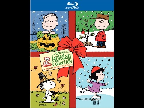 Peanuts Deluxe Holiday Collection Bluray Unboxing