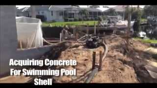 Swimming Pool Shell Video On Turnberry House Model (Sandstar/Arthur Rutenberg Homes LLC)