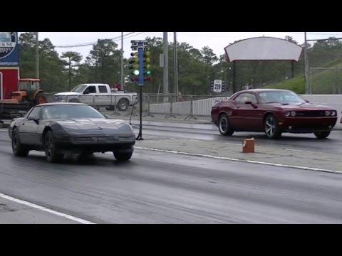 Quick Corvette C4 vs Challenger R/T, Cobalt SS + Single Run