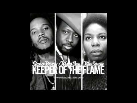 Stephen Marley Ft Nina Simone & Wyclef Jean  Keeper Of The Flame
