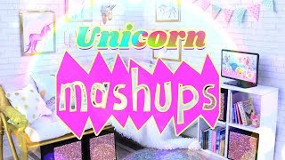 Mash Ups: Unicorn Doll Crafts | Unicorn Room | Unicorn Frappuccino | Unicorn Costume & More