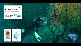 Projet d'un Musée sous-marin  - TOURNAGE CORSE - Mars 2018