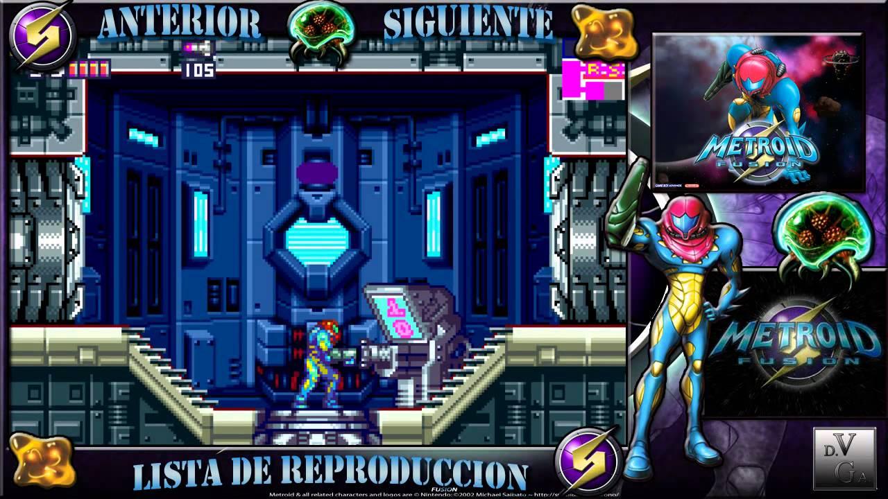 Metroid Fusion GBAParte 4Habilidad La Aceleracion Sector 3 PYR Puertas De Nivel 2 Mejoras XD