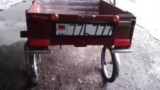 как сделать тележку для велосипеда своими руками