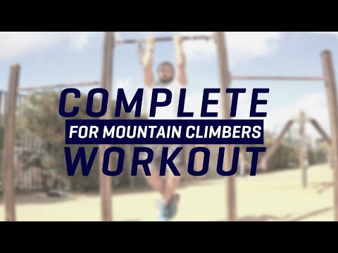 Workout For Mountain Climbing (Full Routine)