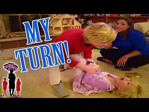Supernanny | Girl Throws Angry Tantrum When She's Not In Charge