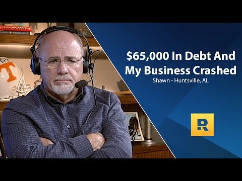 $65,000 in Debt And My Business Crashed!