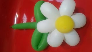 Как сделать цветок из шариков. Простой способ