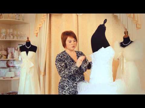 Как посадить свадебное платье по фигуре