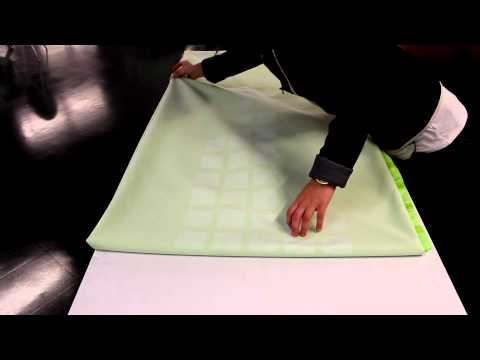 Quick Tip Tuesday - Dye Sub Drapery Table Throw Folding