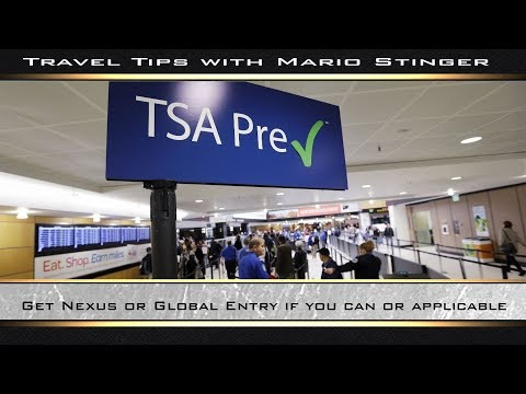 Get Nexus Or Global Entry If You Can Or Applicable