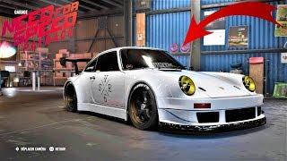 NFS Payback course poursuite custom moteur Porsche RSR