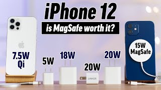 iPhone 12/Pro Ultimate 0-100% Charger Test with MagSafe!
