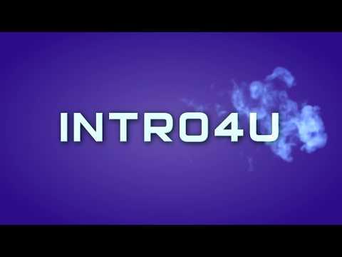 Простое интро с появлением текста из дыма в Sony Vegas Pro (free Download)