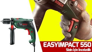 "Bosch'un En Yeni Matkabı ""EasyImpact 550"""