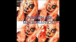 Halloween MakeUp Tutorial Edition 2018: Pumpkin Mask