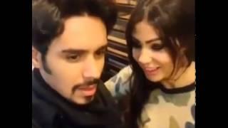 أحدث فيديو لابتسام تسكت وعبد السلام