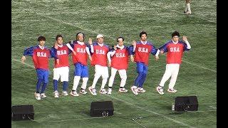2018/12/17(月)「JAPAN X BOWL」東京ドーム DA PUMP(ダパンプ)がアメフ...