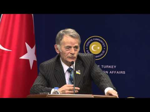 Joint Press Conference by Minister of Foreign Affairs of Tur