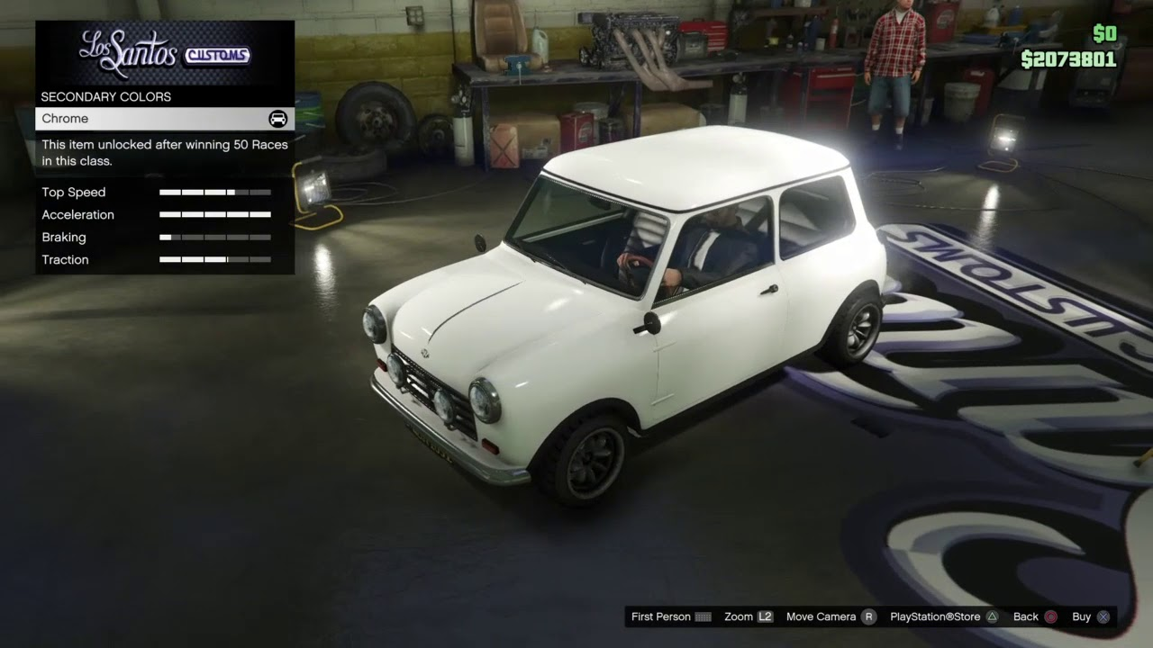 Gta 5 Italian Job Austin Mini Cooper S Mk1 Build Youtube
