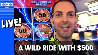 🤪 $500 WILD Ride 📹 LIVE Action 😁 Mighty Cash 💸 ✦ BCSlots
