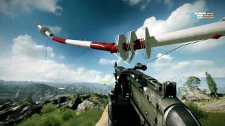 Battlefield 3 - Falling Tower (Caspian Border) [HD] PC