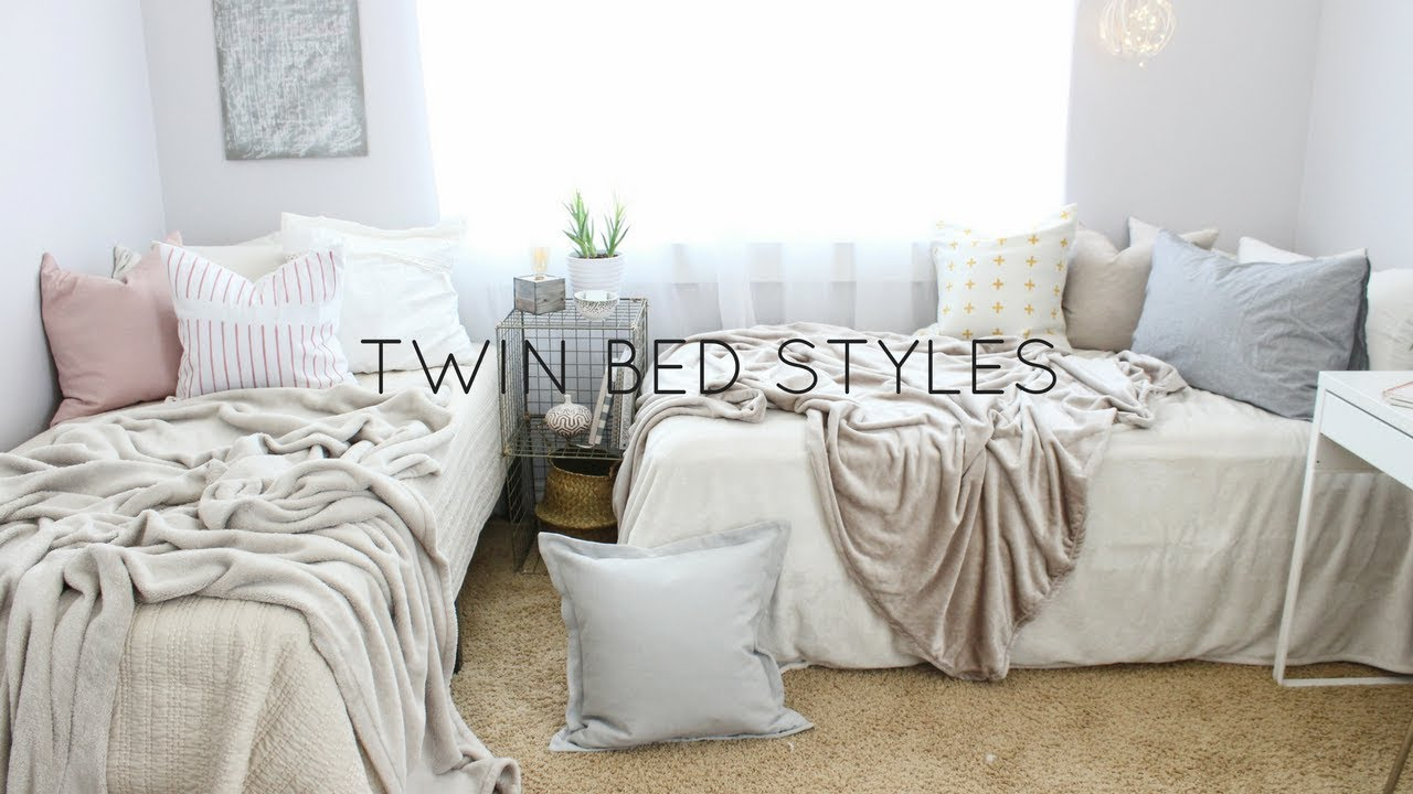 BACK TO SCHOOLTWIN BED STYLES  YouTube
