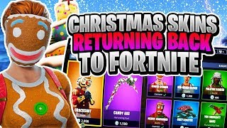NEW FORTNITE CHRTISMAS SKINS COMING BACK TO FORTNITE EPIC GAMES CONFIRMS MERRY MARAUDER COMING BACK!