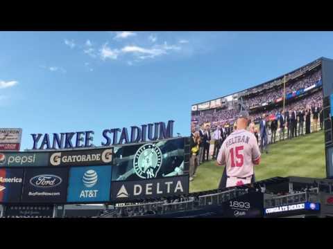 Derek Jeter Retirement Ceremony 5/14/2017.