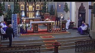 Eucharystia z Adwentowwego Dnia Skupienia dla małżeństw 16 12 2017
