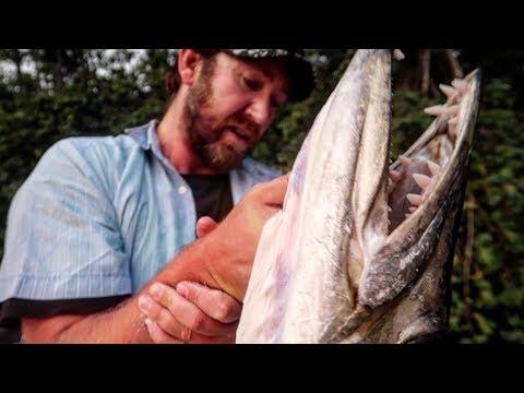 Angler Fängt GIGANTISCHES Urzeit-Monster