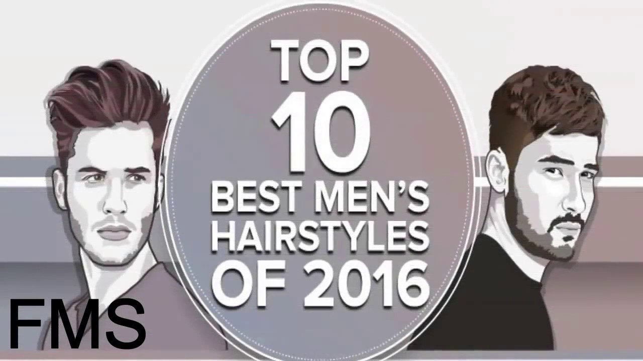 Top 10 Best Mens Hairstyle 2017 Trending Haircut Youtube