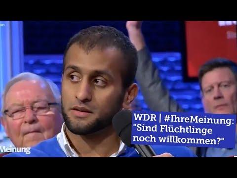 """Auftritt beim WDR #IhreMeinung - """"Sind Flüchtlinge noch willkommen?"""""""